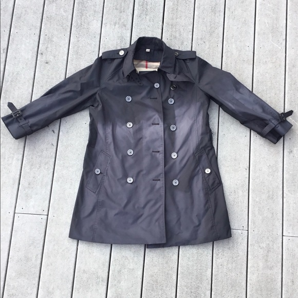 Authentic Burberry Brit Balmoral Trench Coat AS IS